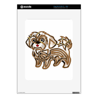 Shi-tzu Decal For The iPad