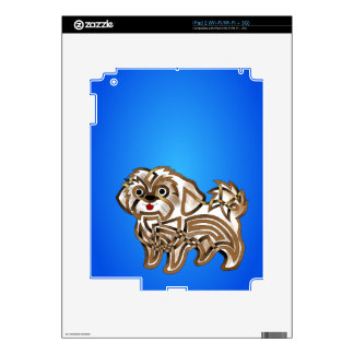 Shi-tzu Decal For The iPad 2