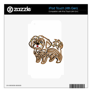 Shi-tzu iPod Touch 4G Decal