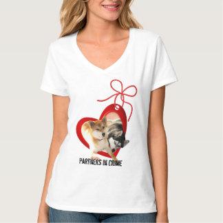 Shiba and Siberian Valentine's Day Shirt