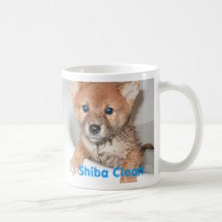 Shiba Clean Classic White Coffee Mug