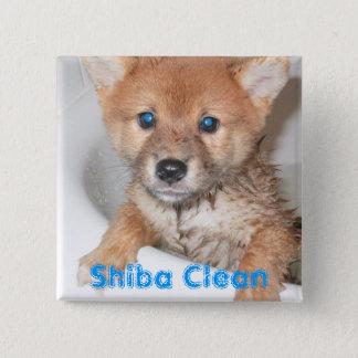 Shiba Clean Pinback Button