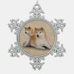 SHIBA DOGS ORNAMENT