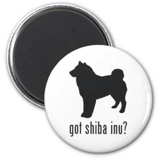 Shiba Inu 2 Inch Round Magnet