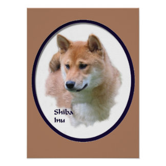 Shiba Inu Art Gifts Poster