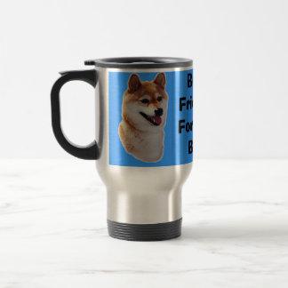 Shiba Inu Best Friends Travel Mug Mugs