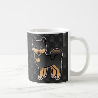Shiba Inu Black And Tan Coffee Mugs