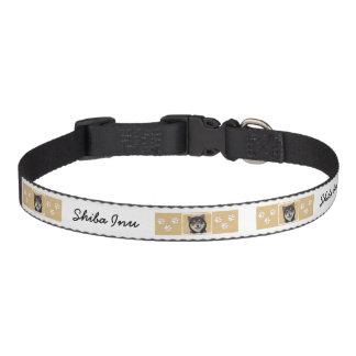 Shiba Inu (Black and Tan) Painting - Dog Art Pet Collar