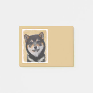 Shiba Inu (Black and Tan) Post-it Notes