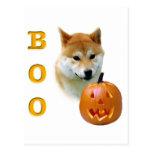 Shiba Inu Boo Postcard