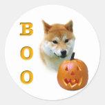 Shiba Inu Boo Sticker