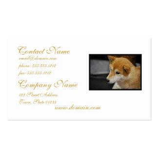 Shiba Inu Business Cards