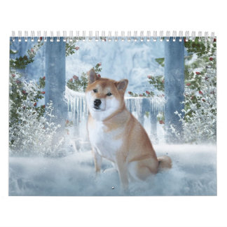 Shiba Inu Calendar