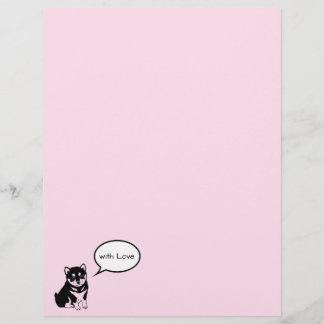 Shiba Inu Chinese Dog Year 2018 speech bubble L