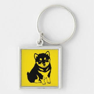 Shiba Inu Chinese Dog Year 2018 Square Keychain