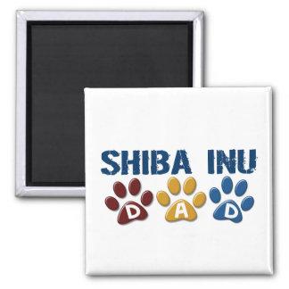 SHIBA INU Dad Paw Print 1 Magnet