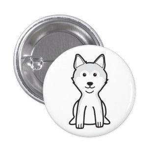 Shiba Inu Dog Cartoon Pin
