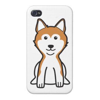 Shiba Inu Dog Cartoon iPhone 4 Cover