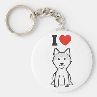 Shiba Inu Dog Cartoon Keychain