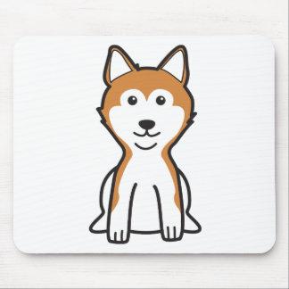 Shiba Inu Dog Cartoon Mouse Pad
