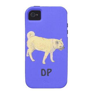 Shiba Inu Dog iPhone4 cases  Add name initials iPhone 4/4S Covers