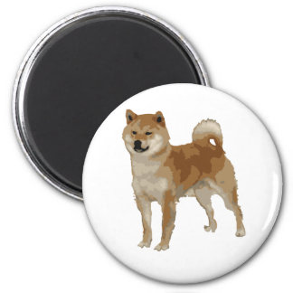 Shiba Inu Dog Magnet