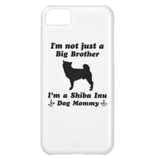 Shiba inu Dog Mommy iPhone 5C Cases