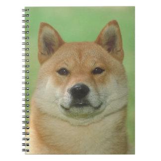 Shiba Inu Dog Notebook