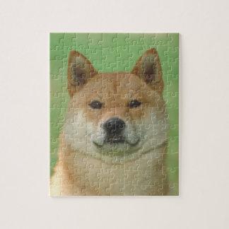 Shiba Inu Dog Puzzle
