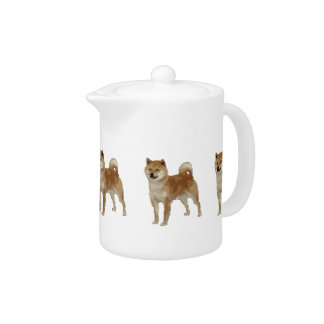 Shiba Inu Dog Teapot