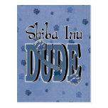 Shiba Inu DUDE Post Card