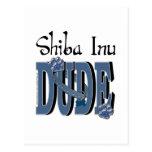 Shiba Inu DUDE Postcard