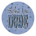 Shiba Inu DUDE Stickers