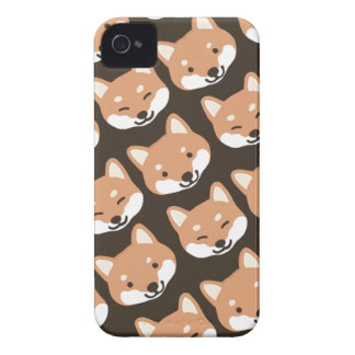 Shiba Inu Faces iPhone 4 Cover