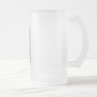 Shiba Inu Frosted Glass Beer Mug
