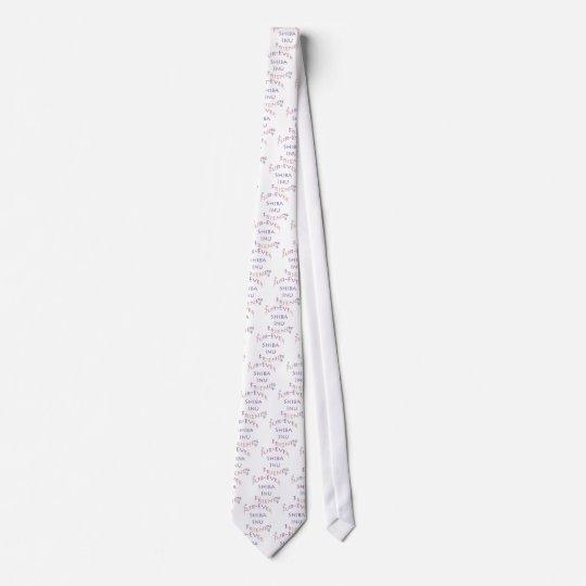 Shiba Inu Furever Friend Neck Tie