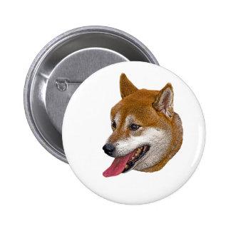 Shiba Inu Gift Pinback Button