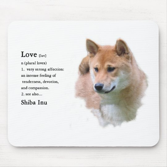 Shiba Inu Gifts Mouse Pad