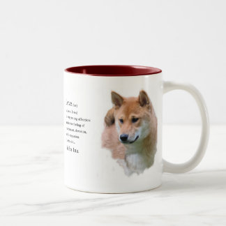 Shiba Inu Gifts Two-Tone Coffee Mug