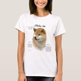 Shiba Inu History Design T-Shirt