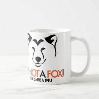 Shiba Inu I m Not a Fox Official Mug