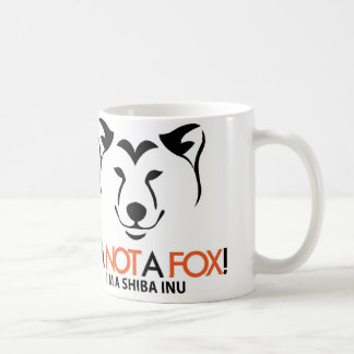 Shiba Inu: I'm Not a Fox Official Mug