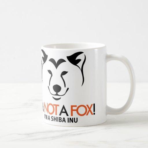 Shiba Inu: I'm Not a Fox Official Mug