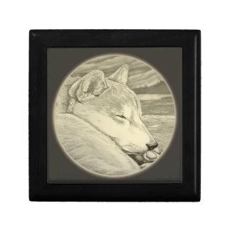 Shiba Inu Jewelry Box Dog Art Box Dog Lover Boxes