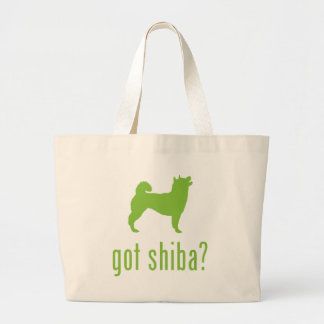 Shiba Inu Large Tote Bag