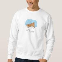 Shiba Inu Let It Snow - Happy Dog Holiday Sweatshirt