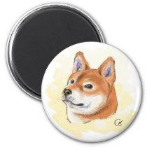 Shiba Inu Lovers Magnet