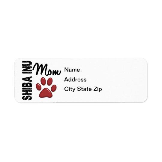 Shiba Inu Mom 2 Label