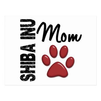 Shiba Inu Mom 2 Postcard