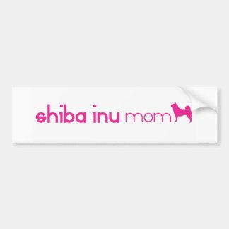 Shiba Inu Mom Bumper Sticker